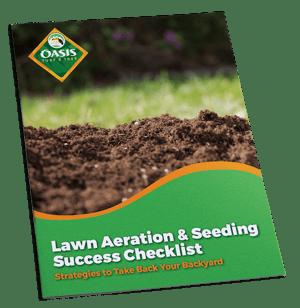 Lawn aeration and seeding checklist for Cincinnati, Dayton, OH, and Northern Kentucky.