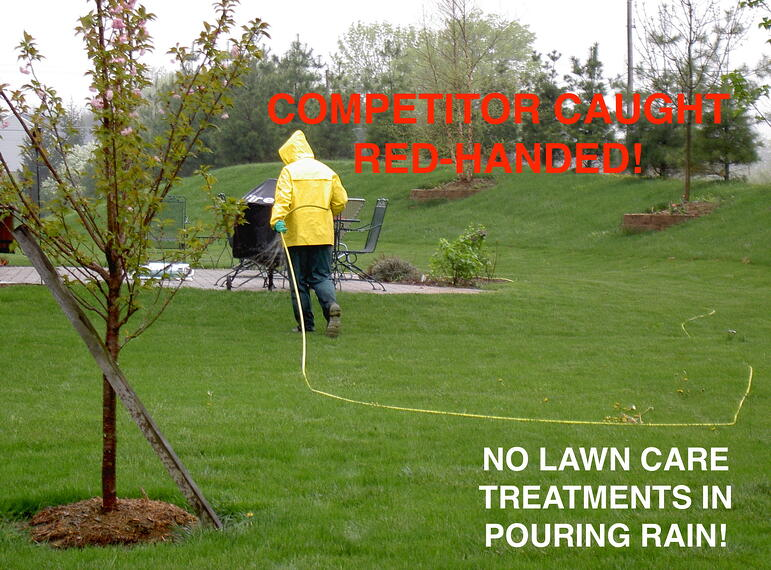 Lawn care in wet weather, drought, cold, and heat. Excuses or real impacts?