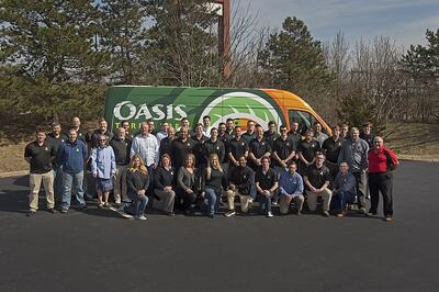 Oasis Turf & Tree Employee Team