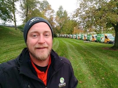 Dan went from lawn care jobs in Cincinnati to a career he loves