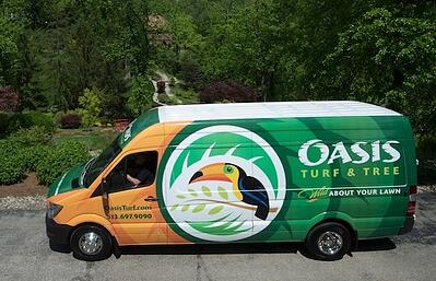 Oasis Pest Control Services Truck