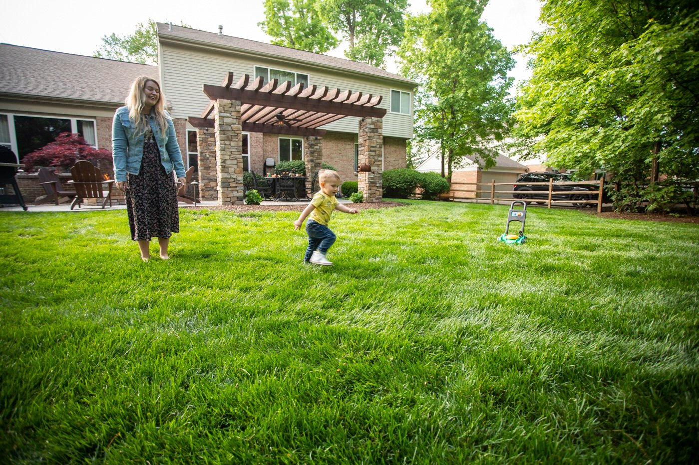 environmentally responsible lawn care customers in lawn