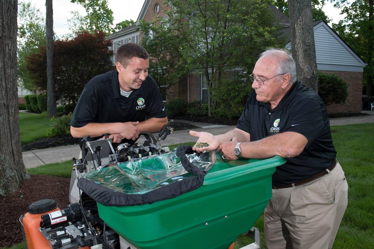 Lawn care technician training