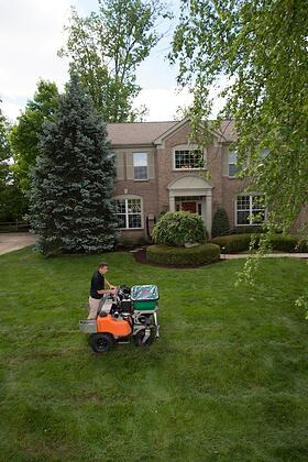 Learn more about lawn aeration and overseeding for your Cincinnati home.