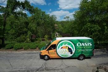 Oasis Turf & Tree mosquito control van