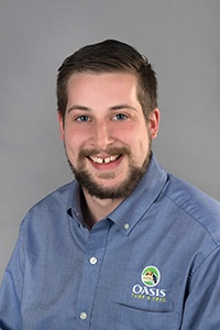 Oasis Turf and Tree Quality Assurance Manager Nate Wickemeyer