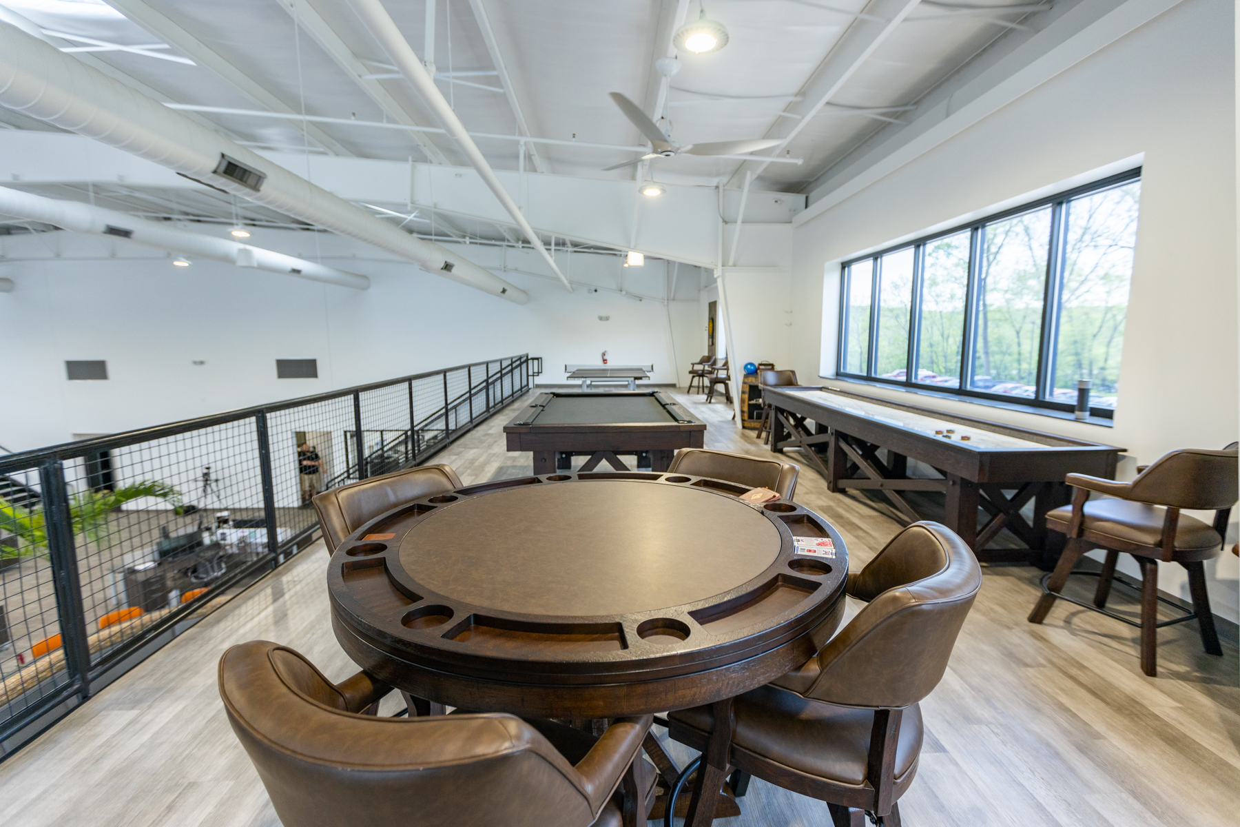 Oasis recreational space for employees